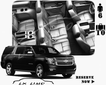 SUV Suburban for hire in Mesa