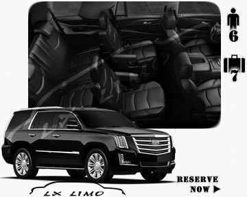 SUV Escalade for hire in Mesa AZ
