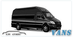 Luxury Van service in Mesa