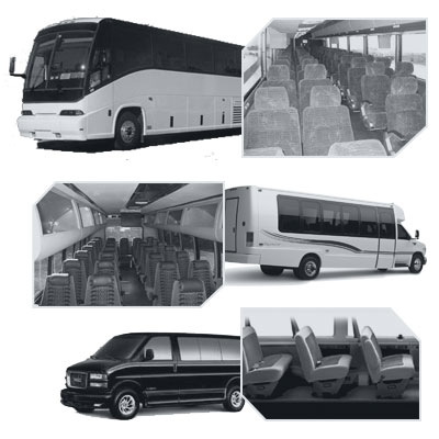 Mesa Coach Bus rental