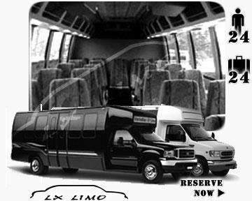 Bus for airport transfers in Mesa AZ