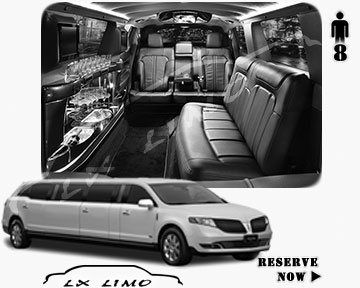 Stretch Limo for hire in Mesa