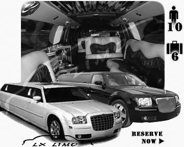 Chrysler 300 Limo in Mesa for wedding